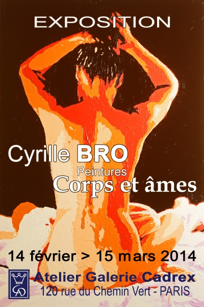 Exposition Cyrille Bro